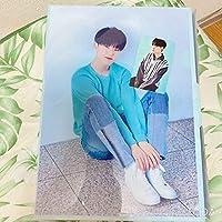 SEVENTEEN 韓国2nd ホシ クリアファイル+カード