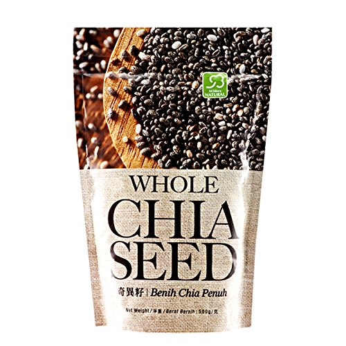 Cosway New sales Mildura Natural Whole Import 5 Chia Seed PACK
