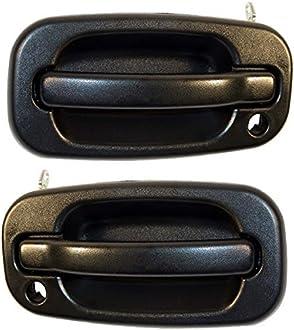 New Door Handle Front Driver Left Side Smooth Black LH Hand HY1310101 Sedan