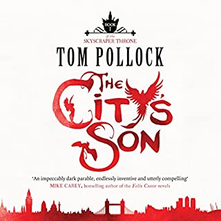 The City's Son audiobook cover art