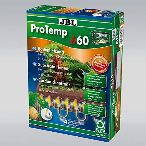 JBL - ProTemp b60 II Bodenheizkabel für Aquarien > 150 cm Bodenheizung Aquarium