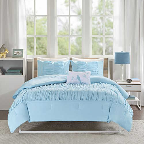 Mi-Zone Miramar Comforter Set, Full/ Queen, Aqua