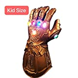 Photo de Xiao Mo Gu Thanos Infinity Gant de Thanos à LED en latex pour enfant par