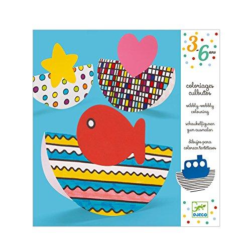 Djeco jeux d'action et reflejosjuegos educativosDjecoparvularios coloriage et balancear multicolore - 1 - version espagnole