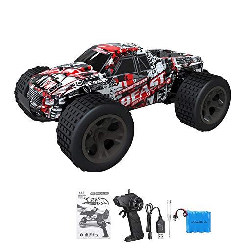 FORYOURS Ferngesteuertes Auto Spielzeug Fahrzeug, Hoch Geschwindigkeit 30 km/h, 1:20 Fernbedienung Auto RC Elektro Monster Truck Offroad, 2.4 Ghz Radio Control Geländewagen für Kinder Erwachsene