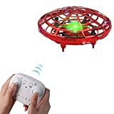 BOMPOW Drone for Kids Flying Drones Remote Control Drone with 2 Speeds and LED Light...