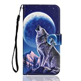 Langlee Compatible with OUKITEL C21 Case, PU Leather Flip