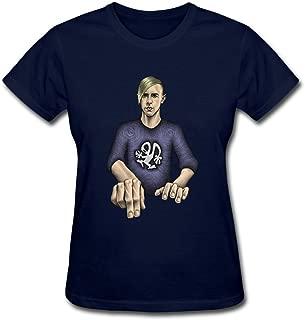 Z11S4H Ultra Miami Richie Hawtin Decks Efx 909 Women's T-Shirts