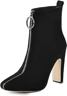 Best heels with zipper in front Reviews