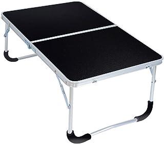 ZXW Table Pliante- Bureau d'ordinateur Portable Pliable portatif, Table à Manger Simple de dortoir à la Maison (Couleur : ...