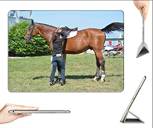Case for iPad Pro 12.9 inch 2020 & 2018 - Horse Rider Equestrian Animal Sport Equine
