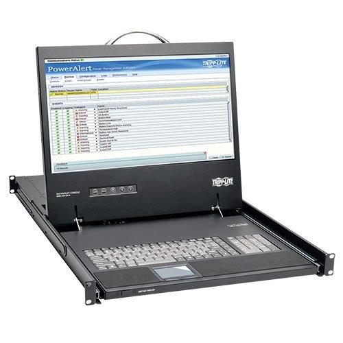 "TRIPP LITE Rack-Mount Console with 19"" LCD & DVI or VGA Adapter 1URM TAA GSA (B021-000-19-HD)"