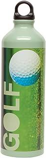 Gaiam 750ml Aluminum Water Bottle (The Green, Poly Loop Cap)