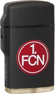 1. FC Nürnberg Feuerzeug Rubber Laser schwarz 1. FC NÜRNBERG FCN