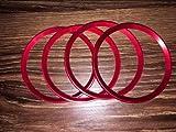 Anillos de decoración para coche con ruedas For3008 4007 4008 5008 508 RXH SW Partner 308 508 RCZ