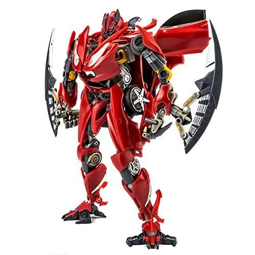 ZPNBKLS Transformers Toys, KO Transformación Juguete King Kong Ampliado Versión Dino Ferrari Coche Robot Deformation Toys.
