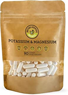 DSO Potassium Magnesium 90 Capsules Increase Energy Calm Nerves Eco-Friendly Packaging