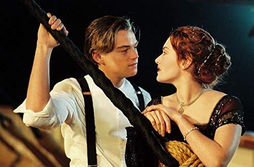 Visionpz 1000-teiliges Puzzle für Erwachsene Titanic: Jack und Ruth Charakterplakat Familien DIY Puzzles Dekomprimieren des intellektuellen Lernspielzeugs für Kinder Bestes Puzzlespiel 75x50cm