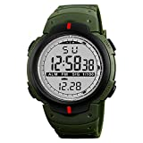 Dial Color: Black , Case Material: Plastic, Band Color: Green Alarm Function , Stopwatch Stag timekeeping function Standard Display : hour, minute,second,month,date,week Night Light , Back Light Add This to Your Collection to Exquisite & Elegant Watc...
