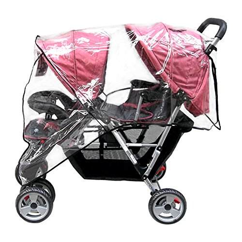 Aligle Weather Shield Double Popular for Swivel Wheel Stroller...