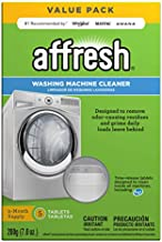 Affresh W10549846 Washing Machine Cleaner | Cleans Front Top Load Washers, Including HE, 5 Tablets