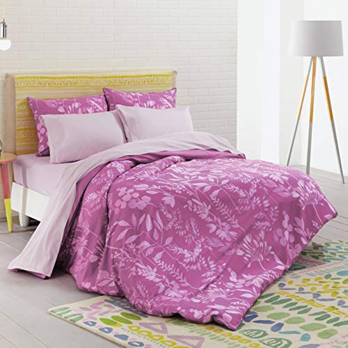 Bluebellgray Bettwäsche-Kollektion (Fleur - Cerise Pink, Twin/Twin XL)