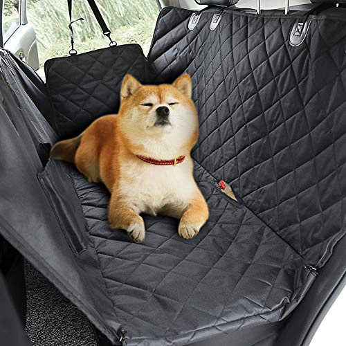 RR-YRC Dog Car Seat Cover, 137147Cm Pet Transport Rear Seat Protector Hammock for Cars, Trucks, Suvs and Vans