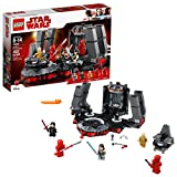 LEGO Star Wars 75216 Snoke's Throne Room Building Kit (492 Pieces)
