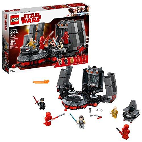 La Salle du Trône de Snoke LEGO Star Wars 75216 - 492 Pièces - 0