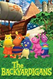 Dervom 1000 pezzi di puzzle in legno The Backyardigans poster puzzle famosi puzzle in legno per adulti bambini puzzle giocattoli decorazione della casa - 75 x 50 cm