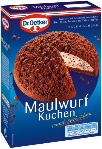 Dr. Oetker Maulwurfkuchen, 8er Pack (8 x 435 g Packung)