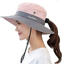 Duakrs Premium Outdoor UPF 50+ Wide Brim Sun Hat Waterproof UV Protection Bucket Mesh Boonie Hat Adjustable Fishing Cap for Men Women and Children