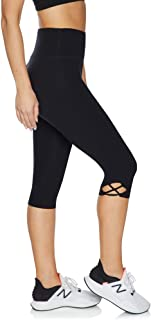 Rockwear Activewear Women's Luxesoft 3/4 Loop Side Tight from Size 4-18 for 3/4 Length Ultra High Bottoms Leggings + Yoga ...