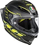 AGV Casco Moto Pista Gp R E2205 Top PLK, Matt Carbon, XL