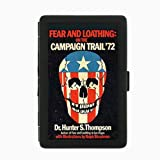 Hunter S. Thompson Fear Loathing Double-Sided Black Color Cigarette Case, ID Holder, and wallet D-078