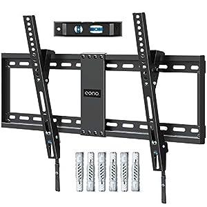"""Kompatibilität - Diese TV Wandhalterung ist mit den meisten 37-70"""" (93-177cm) Fernsehern bis zu 60 kg mit max. VESA-Norm 600x400mm kompatibel. Diese TV-Halterung ist für die Installation von massivem Beton, Betonblockwänden und Holzpfosten vorgesehen..."""