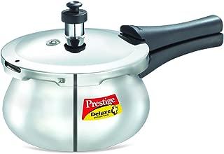 Prestige Deluxe Stainless Steel Baby Handi Pressure Cooker, 2-Liter