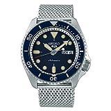 Reloj Seiko 5 Sports automático Esfera Azul y Correa de Malla, SRPD71K1.