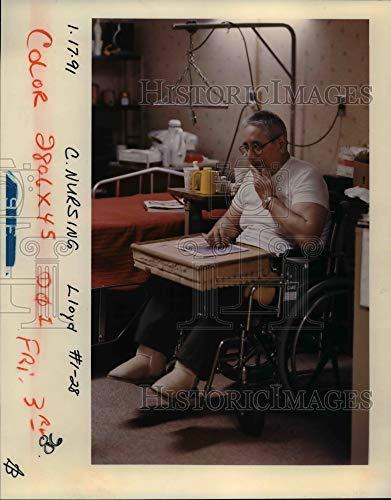 Fantastic Prices! Historic Images - 1991 Press Photo Nursing Home, Care West Nursing Center, Jinero ...