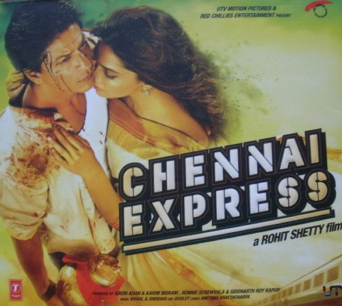 Chennai Express Hindi Audio CD (Stg: Sharukh Khan, Deepika Padukone)(Bollywood Film/Movie/Cinema)