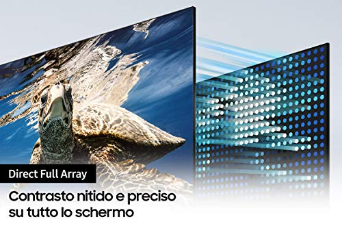 Samsung TV QLED QE50Q80AATXZT, Smart TV 50
