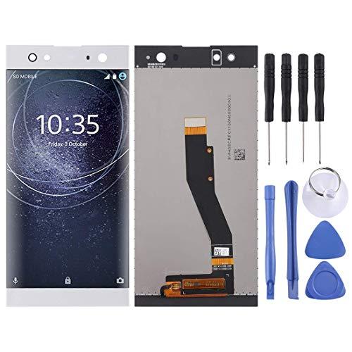 電話ディスプレイ Zhangl携帯電話LCDスクリーンLCDスクリーンとデジタイザーのデジタイザーのソニーXperia XA2 Ultra(ブラック)LCDスクリーン(色:銀) 携帯電話のアクセサリー (Color : Silver)