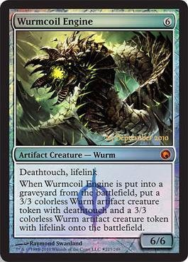Magic The Gathering - Wurmcoil Engine (223/249) - Prerelease & Release Promos - Foil