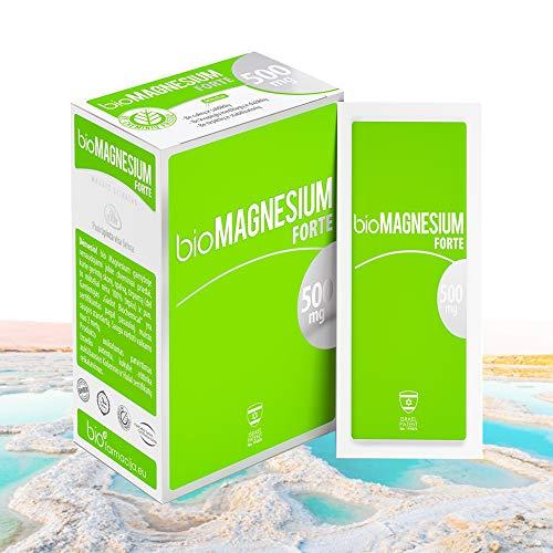 CITRATO DE MAGNESIO 500 mg | PRODUCTO DEL MAR MUERTO 100% NATURAL | SABOR NATURAL DE LIMÓN | KOSHER Y HALAL CERTIFICADOS | APTO PARA VEGANOS, MUJERES EMBARAZADAS Y LACTANTES | PRIMA