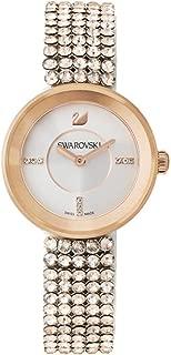 Swarovski Women's Quartz Watch, Analog Display and Stainless Steel Strap 5027319, Gold Band