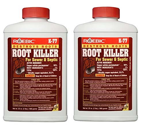 Roebic Laboratories K-77 Root Killer, 32OZ (1, 2 Pack
