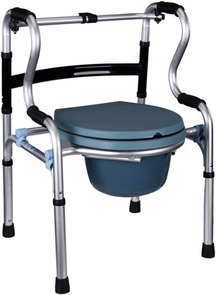 CHLDDHC Toilet Houston Mall Seat for lowest price The Elderly Aluminum Ch Commode Foldable