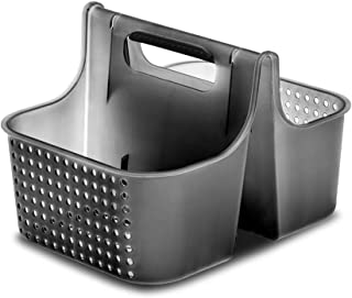 madesmart Tote-CARBON COLLECTION Ventilation Holes, Soft-Grip Handle & BPA-Free, Large