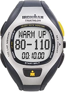 Ironman T5F001 Unisex 100-Lap Target Trainer Heart Rate Monitor Watch