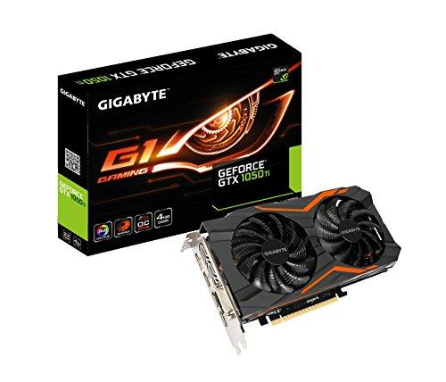 (Boost Clock 1506 MHz, 4 GB) - Gigabyte Geforce GTX 1050 Ti 4GB G1 GAMING Graphic Card